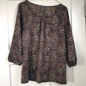 GUC Ann Taylor blouse sz M